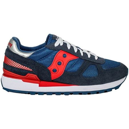 SAUCONY 2108748 DENIM/HIGH RISK RED