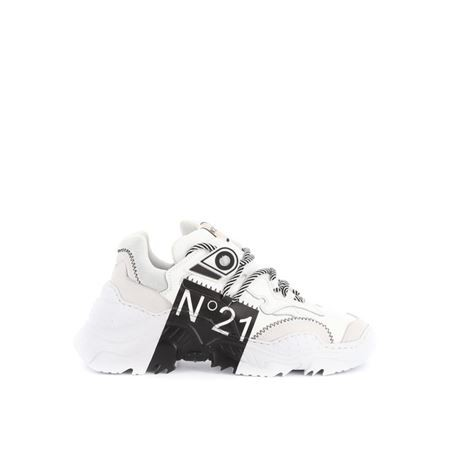 N°21 20ESP00040004S002 WHITE/BLACK PRINT
