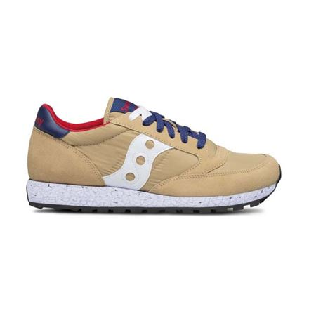 SAUCONY 2044/518518 TAN/RED/BLUE