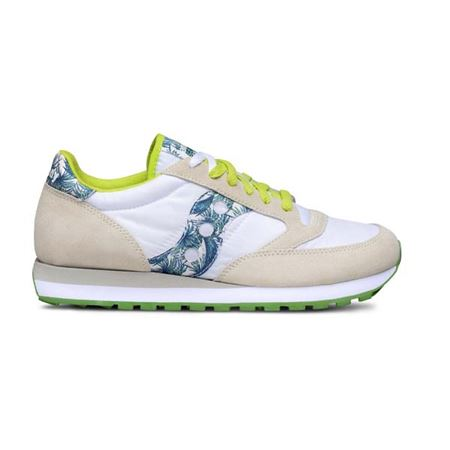SAUCONY 2044/519519 WHITE/GREEN/FLORAL